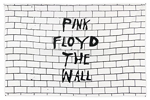 Sunshine Joy Pink Floyd The Wall Tapestry Iconic Wall Art Huge 53x82 Inches (Pink Floyd Flag)