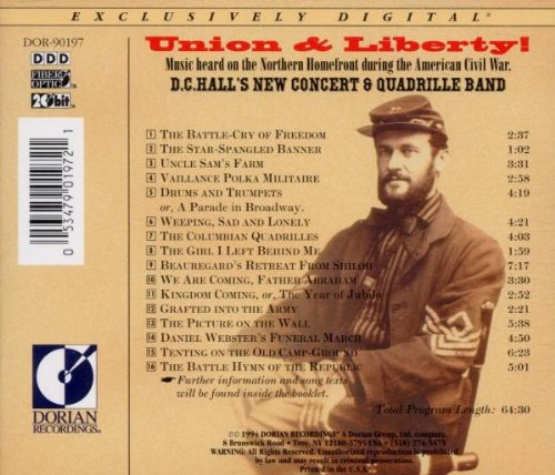 Union & Liberty: American Civil War Music by Sono Luminus
