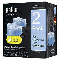 Braun Limpia y renueva los cartuchos de recarga CCR - 2 unidades (el empaque puede variar)