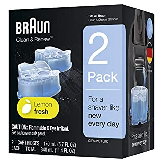 Braun Clean & Renew Refill Cartridges CCR - 2 Count (Packaging May Vary) (B000050FDY) | Amazon price tracker / tracking, Amazon price history charts, Amazon price watches, Amazon price drop alerts