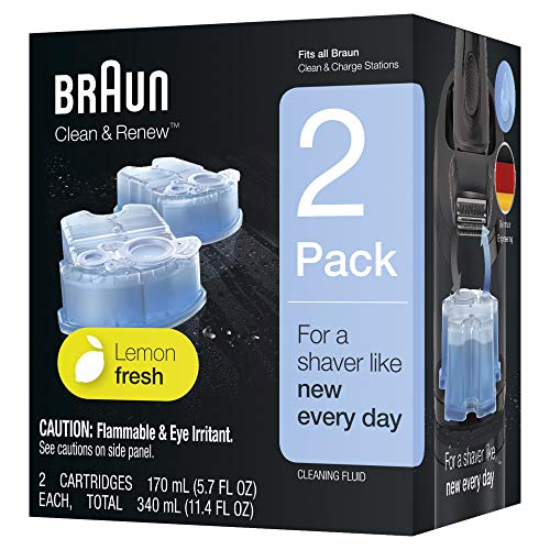 Braun Clean & Renew Refill Cartridges CCR - 2 Count (Packaging May Vary)