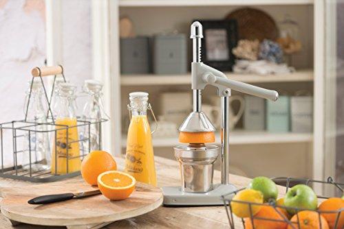Kitchen Craft Living Nostalgia - Spremiagrumi per Uso intensivo, con Leva, Colore: Grigio Francese 3 spesavip