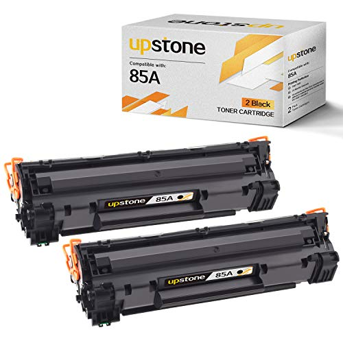 UPStone 85A CE285A Compatible Toner Cartridge Replacement, High Yield, use in HP LaserJet Pro P1102W P1109W P1102 P1109 M1212NF M1217NFW P1100 M1130 M1132 M1138 M1139 M1219nf MFP (Hp Laserjet Cartridge 85a)