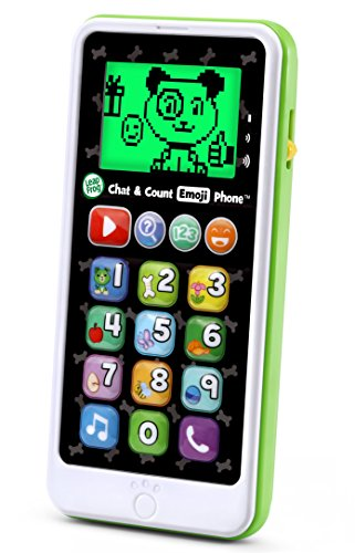(LeapFrog Chat and Count Emoji Phone, White)