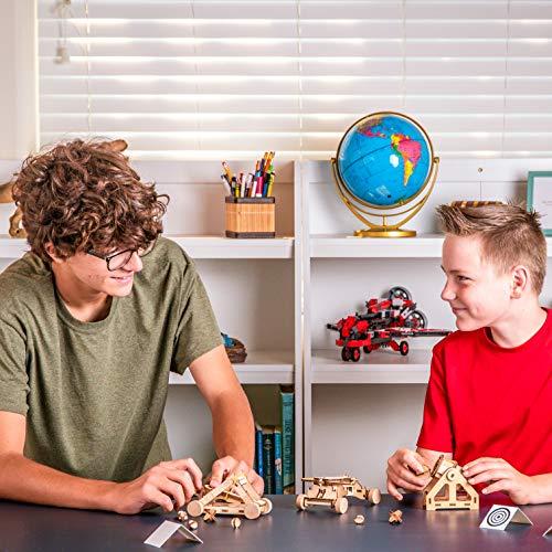 51veT5rF0cL - NATIONAL GEOGRAPHIC - Da Vinci's DIY Science & Engineering Construction Kit - Build Three Functioning Wooden Models: Catapult, Bombard & Ballista