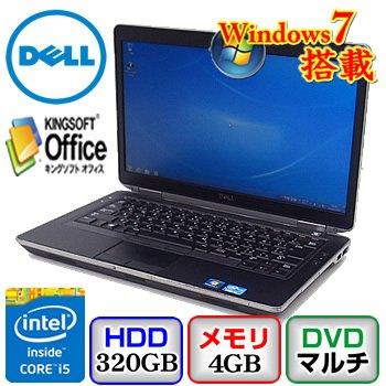 【中古ノートパソコン】DELL Latitude E6430s [P19S] -Windows7 Professional 32bit Core i5 2.6GHz 4GB 320GB DVDハイパーマルチ 14.1インチ(B0608N071)   B01I0XGRJ6