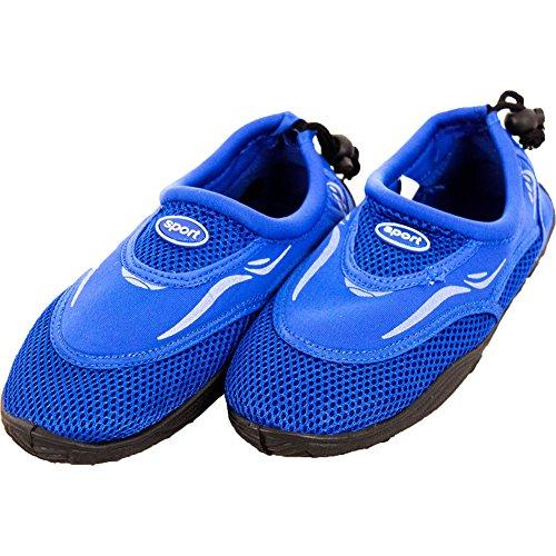 Citroen Citroen Vrouwen Slip Op Aqua Sokken Blauw Water Schoenen 5 B (m) Ons