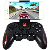 Sminiker® Android Wireless Bluetooth Gamepad Game Controller for Iphone IOS Bluetooth Gamepad for Android and for Iphone IOS Platform 2.3 Cell Phone,smartphone,tablet,smart Box Android Tv BOX Fit