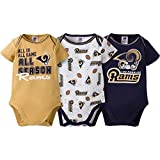 2016 Gerber Baby Boys St Louis Rams 3 Pack Bodysuits 3/6 Months