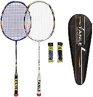 N\\A 8U 62g Ultra Light Professional Badminton Racket-2 Pack/4Pack,Badminton Set, Carbon Fiber Racquet for Adu
