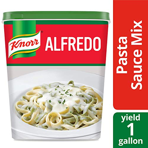 Knorr Professional Alfredo Sauce Mix Made with Real Parmesan Cheese, Vegetarian, No added MSG, 0g Trans Fat, 1 lb, Pack of 4