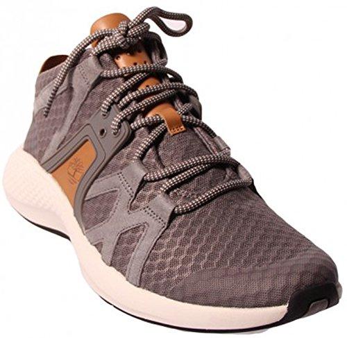 Timberland Mens FlyRoam Go F/L Chukka Steeple Grey Sneaker -