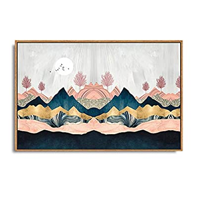Astonishing Composition, Framed Home Artwork Abstract Mountain Nature Scenery for Living Room Bedroom, That You Will Love