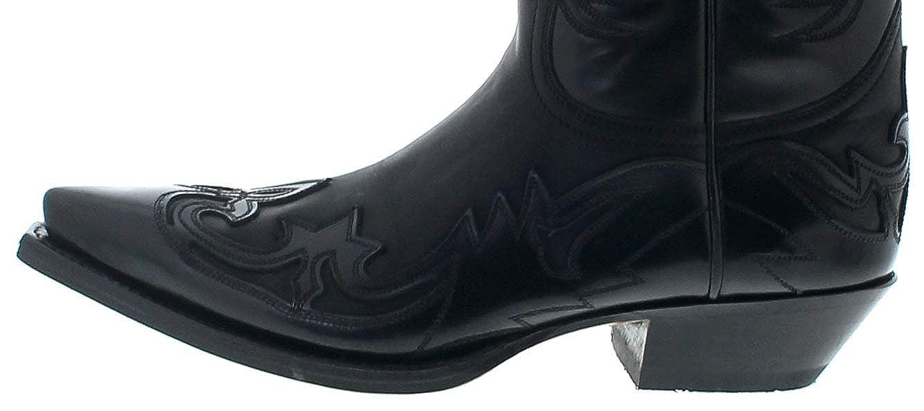Sendra Schwarz Stiefel Unisex Stiefel 3241 schwarz Westernstiefel Schwarz Sendra 8febf0