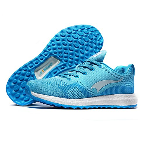 Women Sports Breathable Shoes Lightweight Running Shoes ONEMIX Air Blue Cushioning RqwI5H0