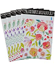 100-Pack Poly Mailers 10x13 Shipping Bags Mailing Envelope Mailer Poly Bags Sealed Christmas Gifts Mailing Packages Xmas Custom Bags with Self Adhesive