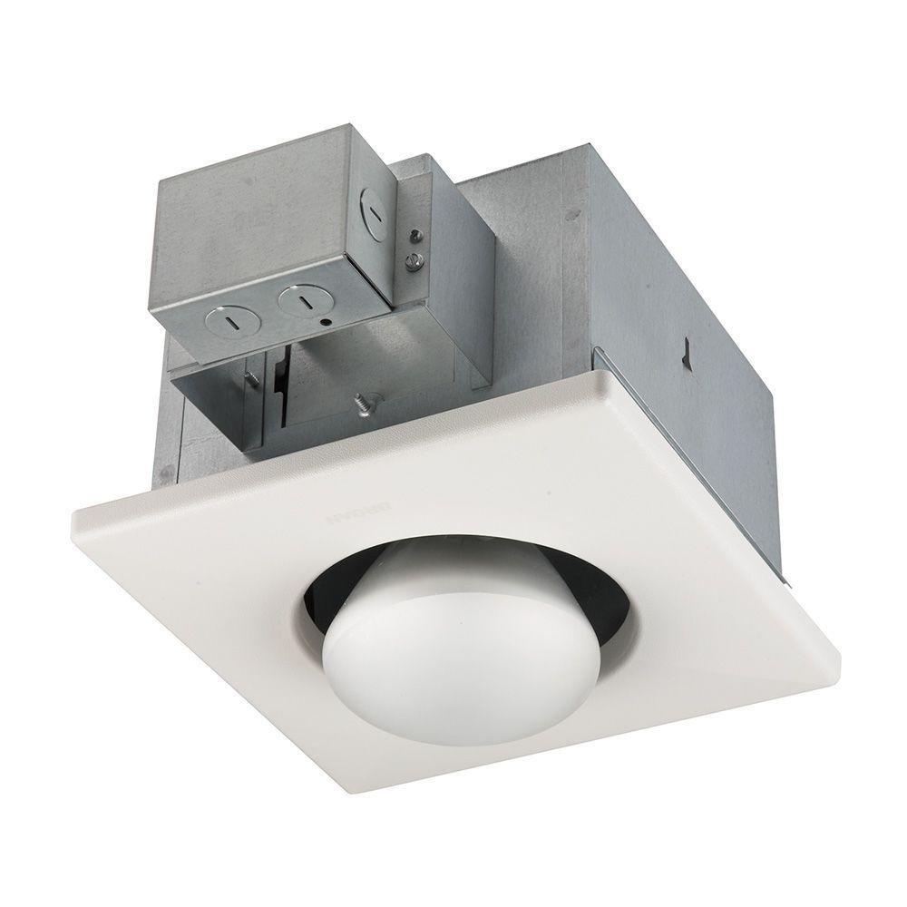 Broan 161 Infrared Single-Bulb Ceiling Heater without Fan, 250-Watt ...