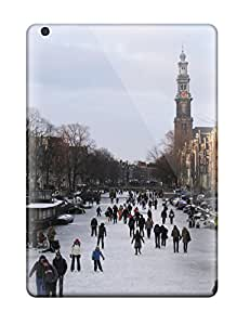 New Shockproof Protection Case Cover For Ipad Air/ Amsterdam City Case Cover