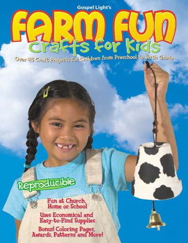 Read Online Farm Fun Crafts for Kids Craft Book PDF