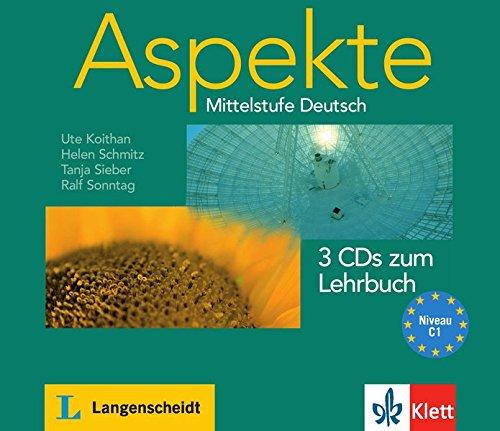 Aspekte 3: Audio-CDs zum Lehrbuch