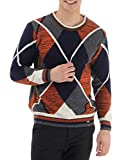 Monte Carlo Men's Full Sleeve Pullover (_8907502150528_Multicolor_X-Large_)