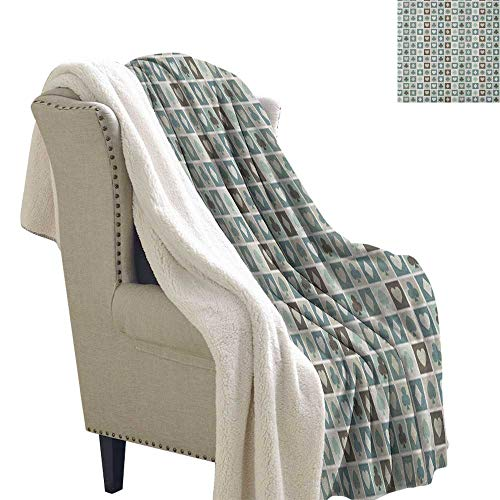 Suchashome Casino Fluffy Throw Blanket Card Suits Hearts