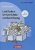 Praxisbuch Meyer: Leitfaden Unterrichtsvorbereitung