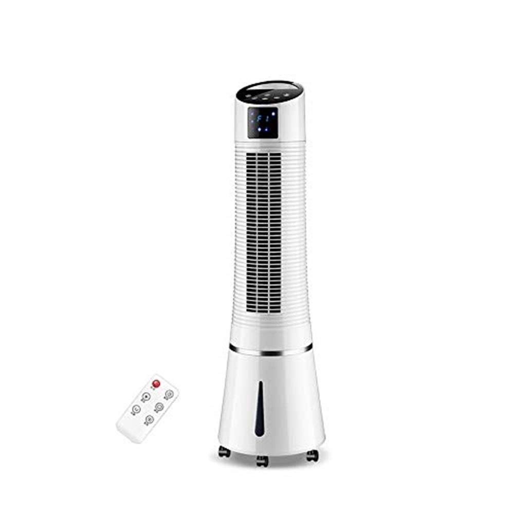 Xxyk Household air Cooler Portable Evaporative Air Conditioner Tower Cold Air Cooler Fan Mobile Air Conditioning Shaking Head Timing Low Noise Screen Display