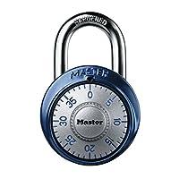 Master Lock 1561DAST Dial Combination Padlock 1 paquete de colores surtidos