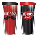 Best II For Wifes - Boss & Real Boss Husband Wife Set of Review