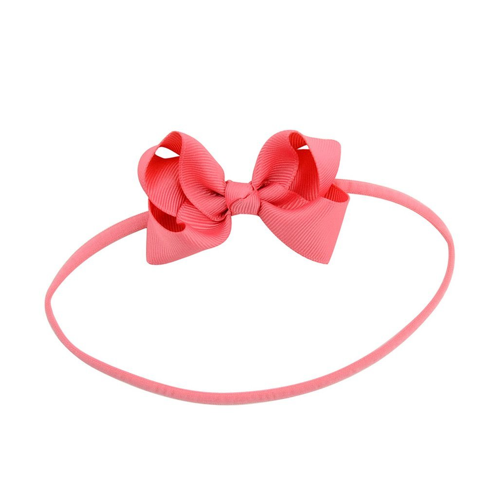 inSowni 20pcs 3'' Bow Headbands Grosgrain Ribbon for Baby Girl Toddler Newborn Kids (20PCS Bow S2) by inSowni (Image #4)