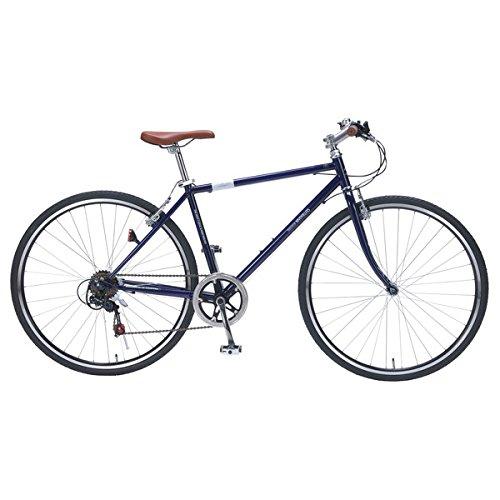 マイパラス M-604-BL ブルー [クロスバイク(700×32C6段変速)] B01NC2SIQX