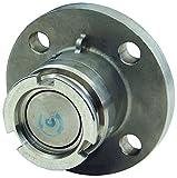 Dixon DDA400GMFL Gunmetal Dry Disconnect, Adapter x 150# Flange, FKM Seals, 164 mm, 4''