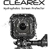 Hydrophobic Screen Protector for GoPro Hero Session 4 & 5 by Clearex | Water Repellent, GoPro Lens, Ultra-Clear Tempered Glass, Anti-scratch | Capture Clearly