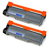 #7: EBBO TN660 Compatible Toner Cartridge replacement for Brother TN660 TN-660 TN630 TN-630, High Yield 2 Black, Used in Brother HL-L2340DW HL-L2380DW HL-L2300D MFC-L2700DW MFC-L2740DW DCP-L2540DW Printer