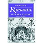 img - for [(German Romantic Literary Theory)] [Author: Ernst Behler] published on (May, 2004) book / textbook / text book