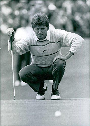 Vintage photo of Zimbabwean golfer, Nick Price, ()