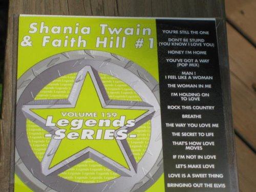 - LEGENDS Karaoke CDG Vol.159 SHANIA TWAIN and FAITH HILL Vol.1
