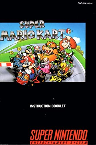 super mario kart snes instruction booklet super nintendo manual rh amazon com Mario Kart 1992 Super Punch Out SNES