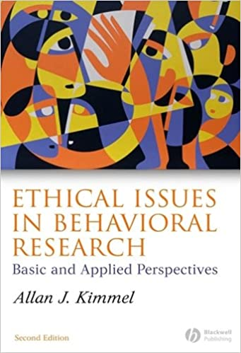 Ethical Issues in Behavioral Research: Basic and Applied