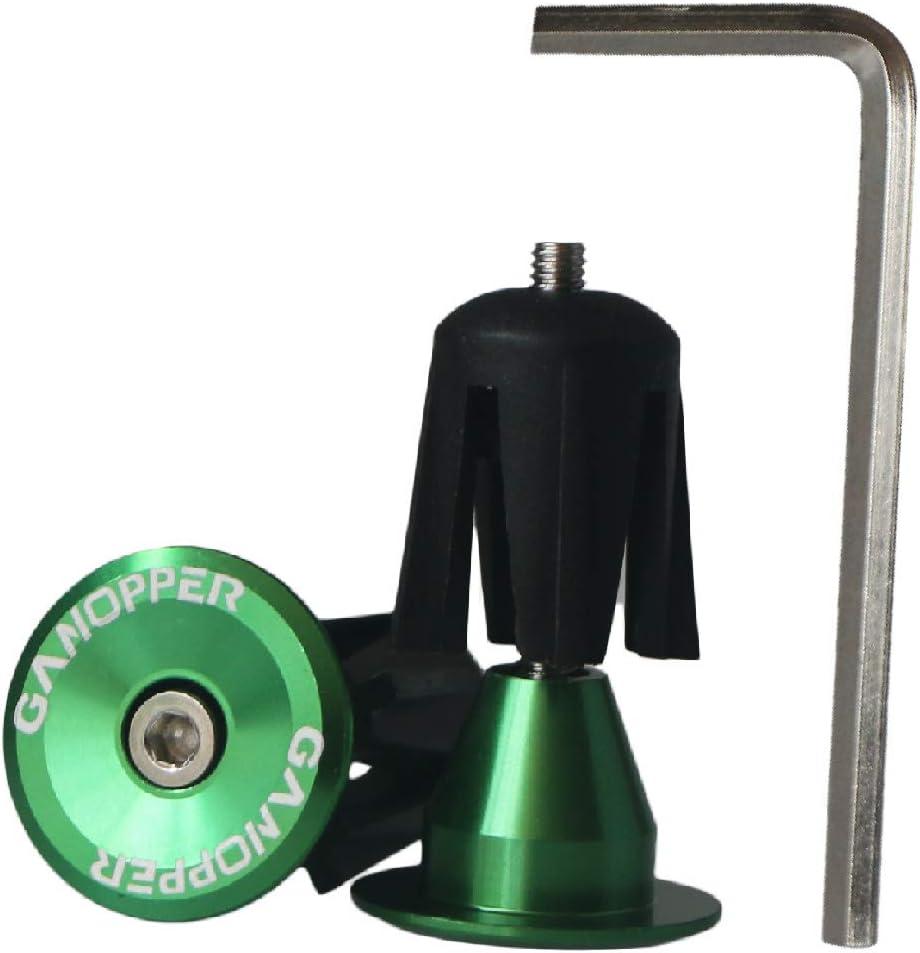 GANOPPER Bar End Plugs MTB Handlebar End Caps Bike Handlebar Plugs Aluminum MTB Road Bike Handlebar End Plugs Bar End Caps