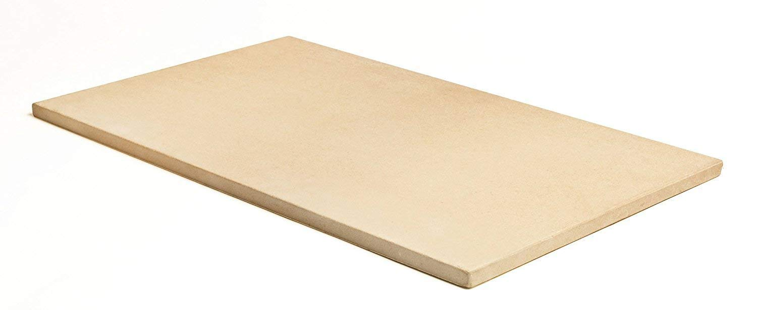 Pizzacraft PC9899 20 x 13.5 Rectangular ThermaBond Baking/Pizza Stone for Oven or Grill (Pack of 2) by Pizzacraft (Image #2)