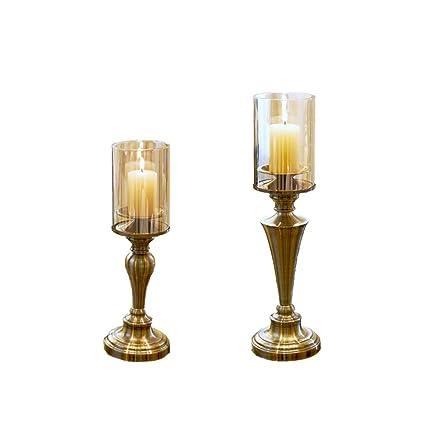 Amazon PEIQI HOME Candle Holders Metal CandelabraSet Of 2