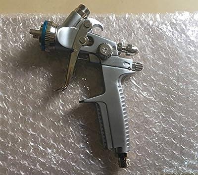 Free shipping 3000-Mini HVLP noz 1.0 Repair paint coating Gravity spray gun w/t cup