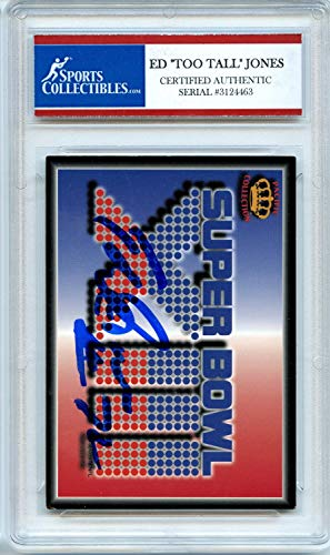 Ed Jones Too Tall 1995 Pacific Dallas Cowboys Autographed Signed Trading Card - Certified Authentic ()