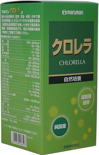 クロレラ(自然培養)【2本セット】マルマン B001CNJN7K