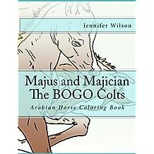 Majus and Majician Twin Colts Coloring Book: Horse Coloring Fun