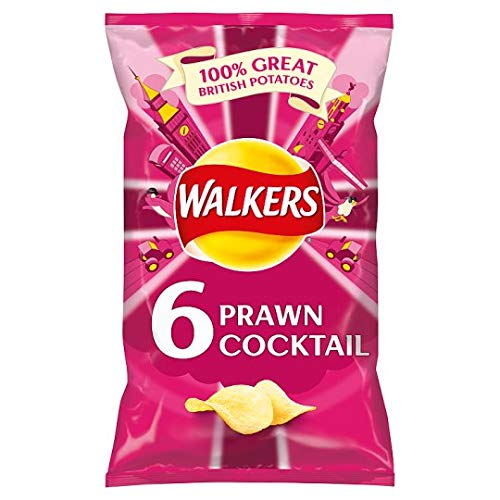 (Walkers Crisps - Prawn Cocktail (6x25g))