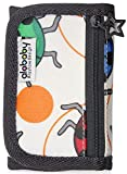 Alababy Boys Canvas Trifold Ladybird Wallet