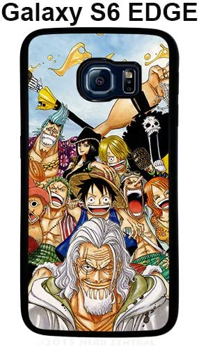One Piece Kanpai for Coque Samsung Galaxy S6 Edge noir Coque case ...